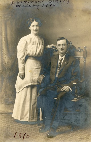 Joseph Sherman Ousley and second wife Mi
